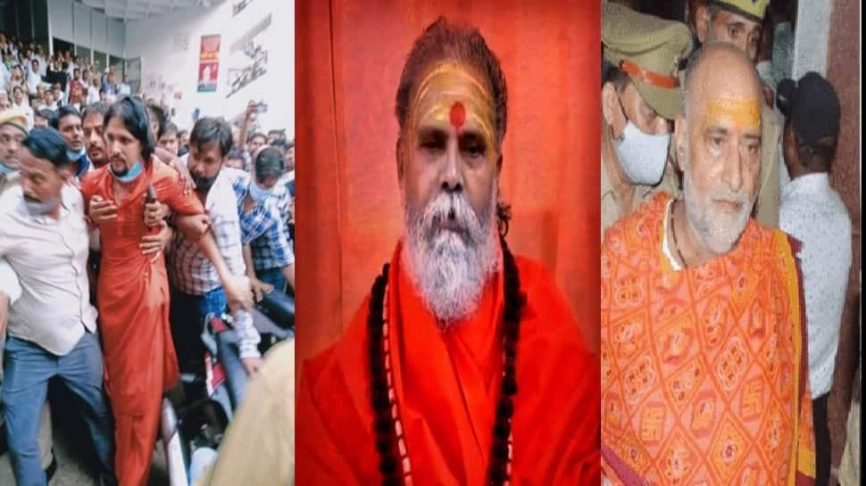 Mahant Narendra Giri Death Case: આનંદ ગિરીની જામીન અરજી ફગાવાઈ, પુજારી આદ્યા તિવારીના પુત્ર સંદીપની પણ ધરપકડ