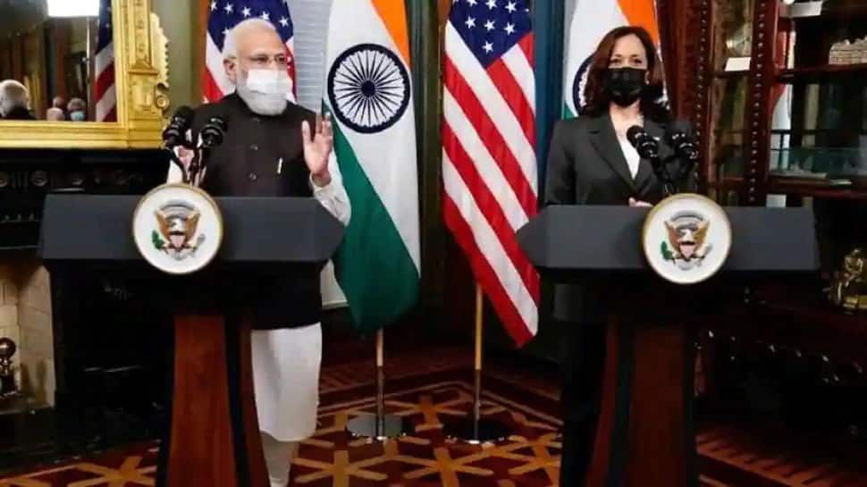 અમેરિકામાં મોદી પાવર! PM Modi ને મળ્યા Kamala Harris, ભારતની કરી પ્રશંસા