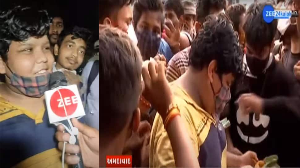 'બાબા કા ધાબા'ની જેમ રાતોરાત પોપ્યુલર બનેલા ગુજરાતી છોકરાની દહી કચોરી ખાવા સેંકડો ગ્રાહકો ઉમટ્યા