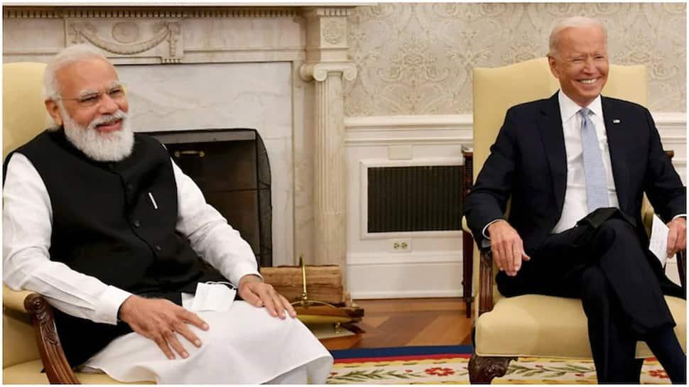 Video: 'ગંભીર' બેઠકમાં અચાનક PM મોદીએ એક વાત એવી કરી....બાઈડેન ખડખડાટ હસી પડ્યા
