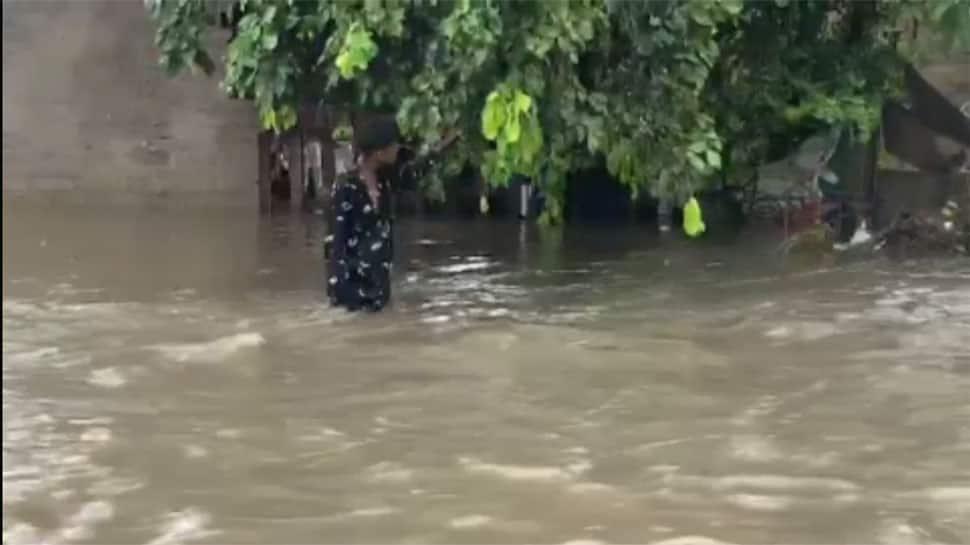 રાહ જોવડાવ્યા બાદ આખરે ઉત્તર ગુજરાતમાં ધમધોકાર વરસાદ, ડીસા-દાંતીવાડામાં ઘૂંટણસમા પાણી