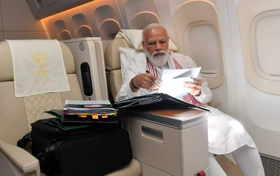 PM મોદીનું અદભૂત મેનેજમેન્ટ: અમેરિકામાં 65 કલાકમાં 20 મીટિંગ, ફ્લાઈટમાં પણ કરી 4 લાંબી બેઠક