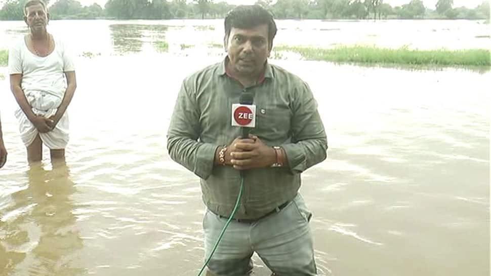 બનાસકાંઠામા આફતનો વરસાદ: કંસારી ગામ તો ઠીક પણ ખેતરોમાં પણ ગોઠણસમા પાણી ભરાયા