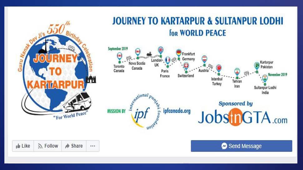Journey to Kartarpur ફેસબૂક પેજ બનાવ્યું