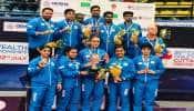 કોમનવેલ્થ ટેબલ ટેનિસઃ ભારતીય પુરૂષ અને મહિલા ટીમ ચેમ્પિયન