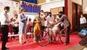 જામનગરમાં 3,825દિવ્યાંગજનોને રૂપિયા 3કરોડ 65લાખના વિવિધ સાધન સહાયનું વિતરણ કરાયું