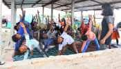 World Yoga Day: એક સમયે સાપ વીંછી જોડે રમવા ટેવાયેલા આ બાળકો આજે ભણે છે યોગના પાઠ