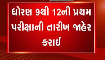 Gujarat: Date of first examination of standard 9 to 12 announced, Watch