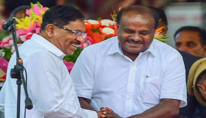 કર્ણાટક: CMના રડવા અંગે ડેપ્યુટી સીએમએ આપી કુમાર સ્વામીને આ સલાહ