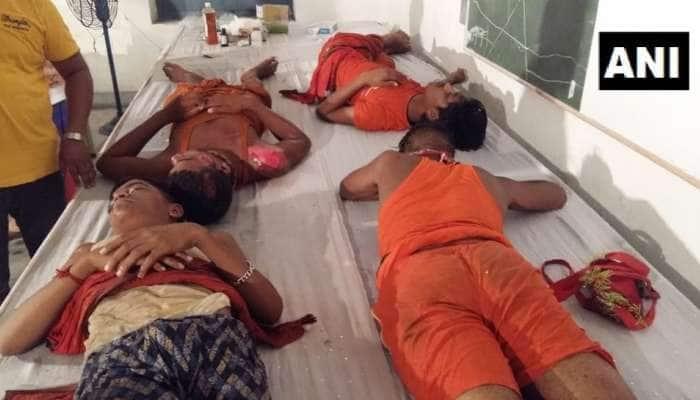 ગરીબનાથ મંદિરમાં બેકાબૂ બની કાવડીયાઓની ભીડ, નાસભાગમાં  અનેક ઘાયલ
