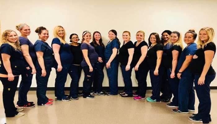 US: આ હોસ્પિટલની 16 નર્સોની ચારેબાજુ ચર્ચા, જાણીને તમને પણ લાગશે ખુબ નવાઈ