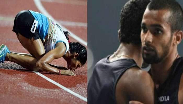 Asian Games 2018: વિઘ્ન દોડમાં ધરૂણને ચાંદી, સ્ટીપલચેઝમાં સુધાએ જીત્યો સિલ્વર મેડલ