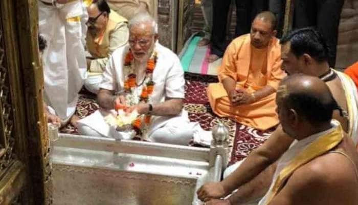 વારાણસીમાં જન્મદિવસ પ્રસંગે મહાદેવનાં આશિર્વાદ લેવા પહોંચ્યા PM