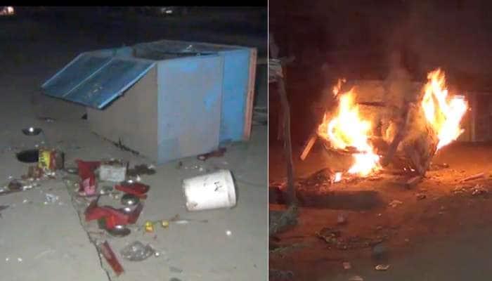 ખેડા: માતરમાં બે જુથ વચ્ચે અથડામણ, વાહનોની તોડફોડ બાદ કર્યા આગ હવાલે