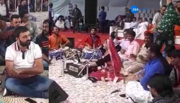 VIDEO ડાયરામાં ગવાયું 'ગરવી રે ગુજરાતમાં પટેલ વટ છે તમારો...', અને થયો નોટોનો વરસાદ