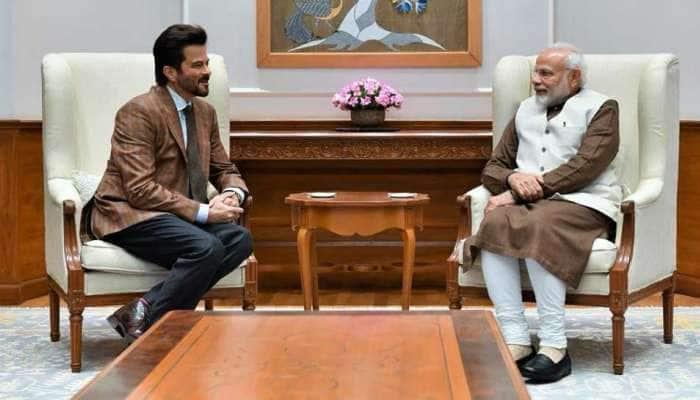 મિસ્ટર ઇન્ડિયા અનિલ કપૂરે કરી PM ઇન્ડિયા સાથે ખાસ મુલાકાત, પછી થઇ મજેદાર ચર્ચા
