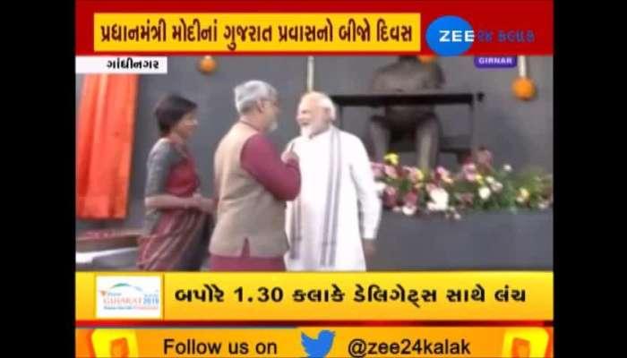 Vibrant Gujarat summit 2019 : PM Modi full schedule second day
