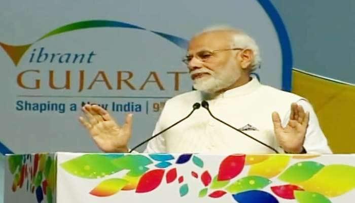 Vibrant Gujarat 2019: ભારત દુનિયામાં પાંચમો મોટો રિન્યૂબલ એનર્જી ઉત્પાદક દેશ: નરેંદ્ર મોદી
