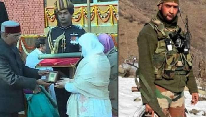 શહીદ વાનીના પરિવારને મળ્યા રાષ્ટ્રપતિ, PM મોદી અને રક્ષામંત્રીએ કરી મુલાકાત