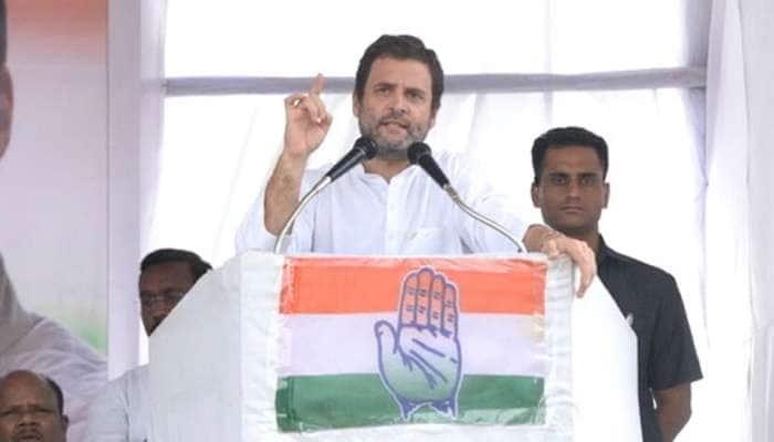 અમારી સરકાર આવશે તો દેશના દરેક નાગરિકને લઘુત્તમ વેતન આપીશું: રાહુલ ગાંધી