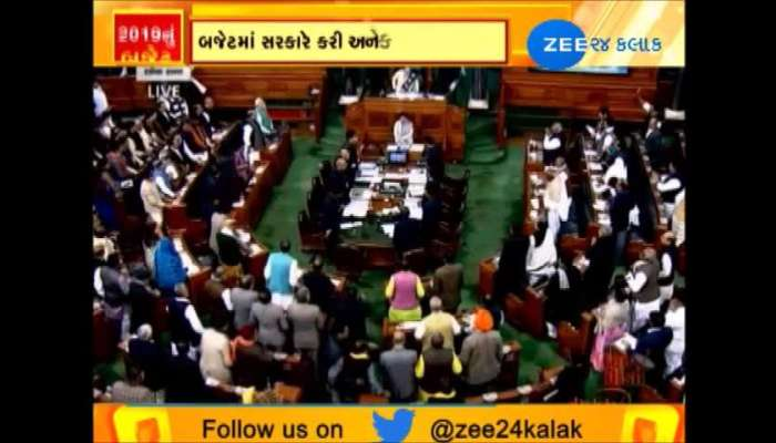 Budget 2019 : highlights of union budget