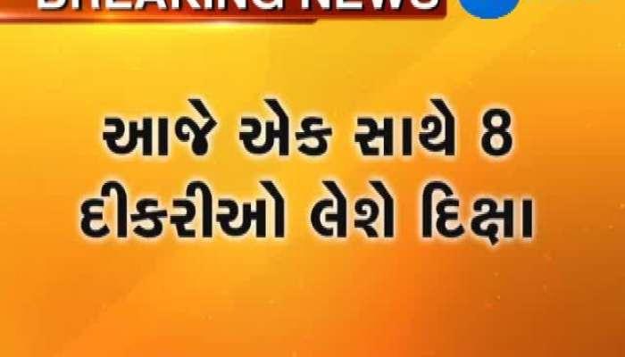 Eight girls in Surat to take Diksha today