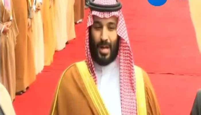 Delhi Guard of honour to Saudi crown prince at Rashtrapati Bhawan