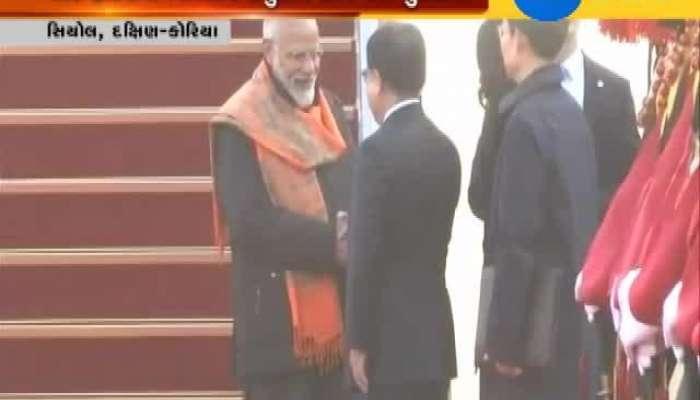 PM Modi meet Indians in Seoul