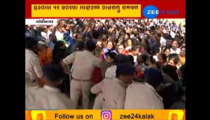 gujarat primary teachers protest gujarat government take big decision