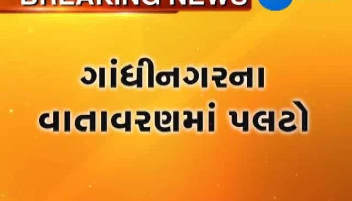 Rain and air Storm in Gujarat