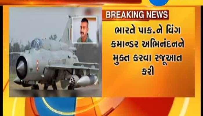 India Demands Immediate, Safe Return Of Air Force Pilot Captured By Pakistan