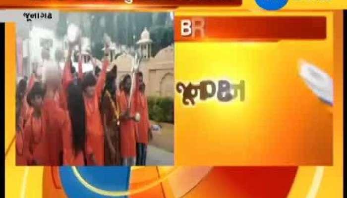 Junagadh : Lots of devotees participate & take blessings of Mahadev in Mini Shiv Kumbh Mela