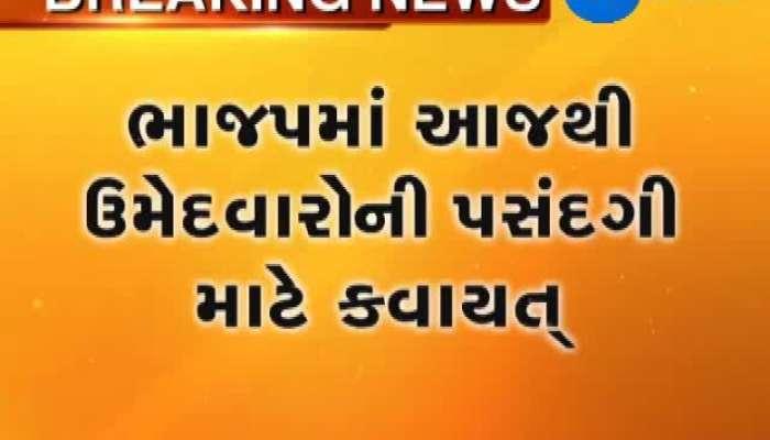 BJP Statrted to take sense of Gujarat LS Seats