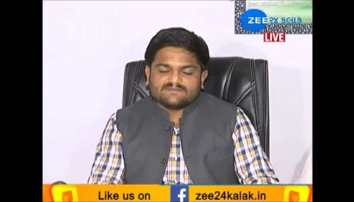 including Nitin Patel was upset with BJP: Hardik Patel