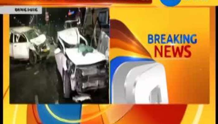 Ahmedabad : Car accident in mid night at Iscon Bridge, 7 Injured