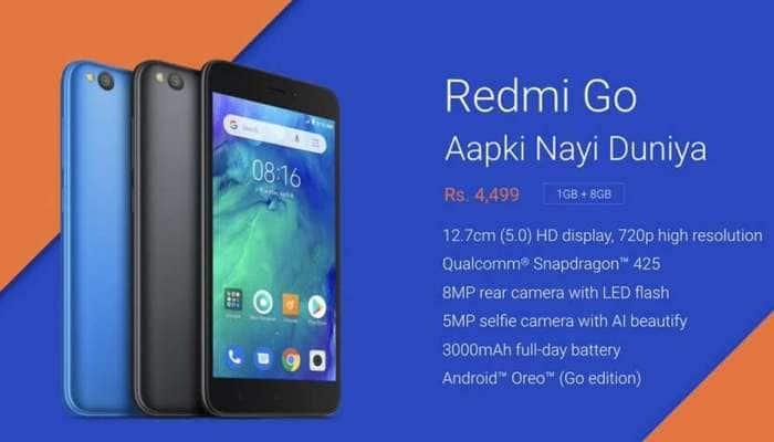 Xiaomi RedmiGo: લોન્ચ થયો સસ્તો અને સારો ફોન, 4,999માં મળશે આ ફિચર્સ