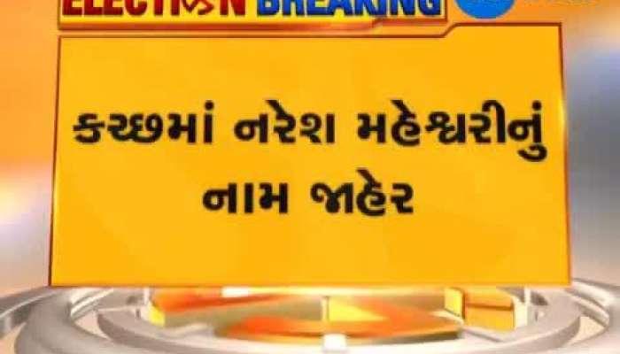 Congress Declares two Gujarat Candidates