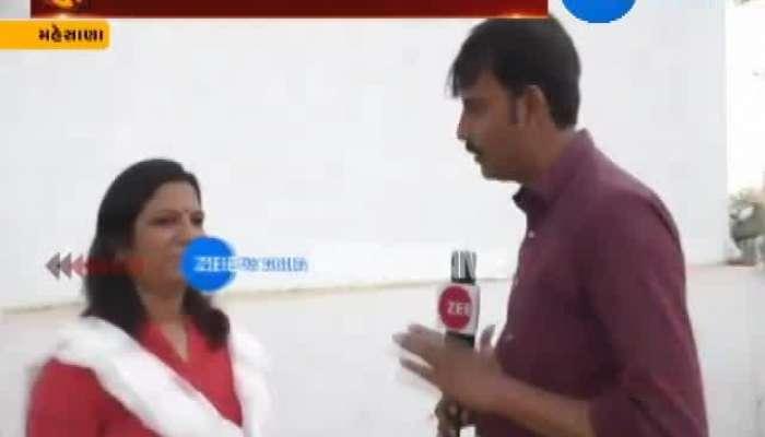 Mehsana BJP Leader Asha Patel Made Conversation With Zee 24 Kalak