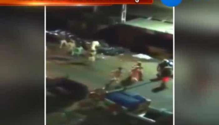 Girsomnath Police Damaging Vehicals Video Got Viral