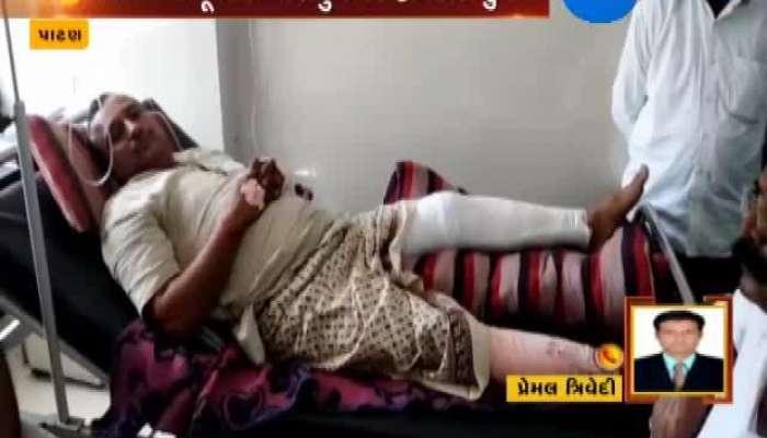 Patan Attack On Ex BJP District Precident Bharat Arya