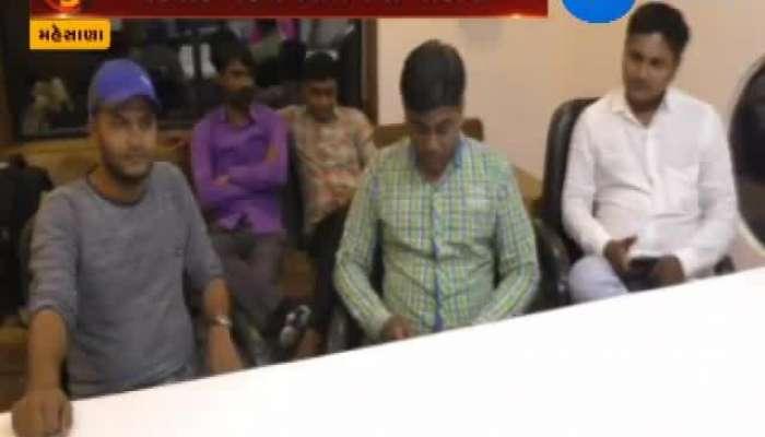 Kirit Patel Join BJP In Mehsana