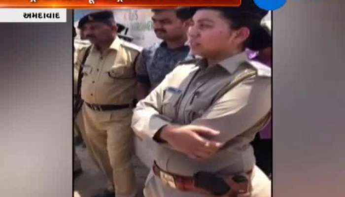 Ahmedabad Ex Contractor Of Metro Project Created Disorder Near Gyaspur