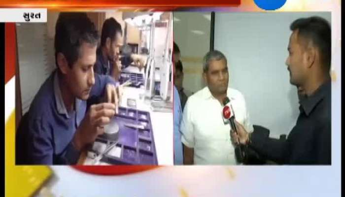 Surat Meeting Between Diamond Association And Courier Company
