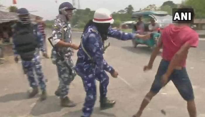 પ.બંગાળમાં મતદાન દરમિયાન હિંસા, BJPનો ટીએમસી કાર્યકરો પર 'બૂથ કેપ્ચરિંગ'નો આરોપ