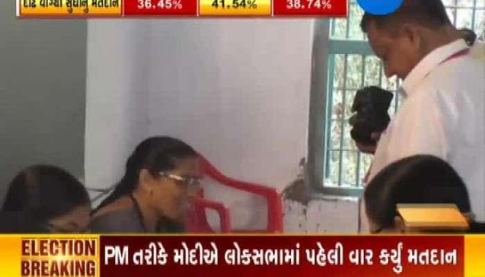 Valsad BJP Candidate KC Patel Vote