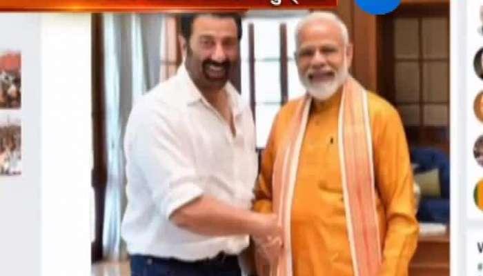 Sunny deol meet Prime Minister Modi