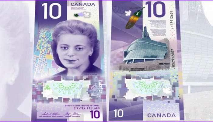 કેનેડાની 10 ડોલરની નોટ બની 'બેસ્ટ નોટ ઓફ ધ યર', જાણો શું છે વિશેષતા...