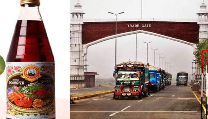 પાકિસ્તાન શાં માટે 'રૂહ અફઝા'ને વાઘા બોર્ડર રસ્તે જ ભારત મોકલવા માંગે છે?