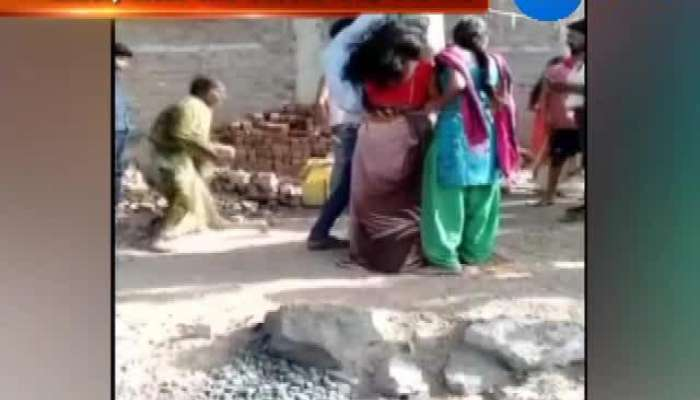 Video of mob thrashing a man and 2 women after tying them to tree goes viral