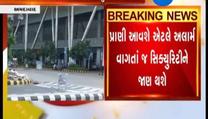 Ahmedabad Airport May Use Israeli System At Airport to stop entry of Animals on Run Way